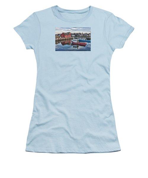 Motif 1 Sky Reflections Women's T-Shirt (Junior Cut) by Jeff Folger