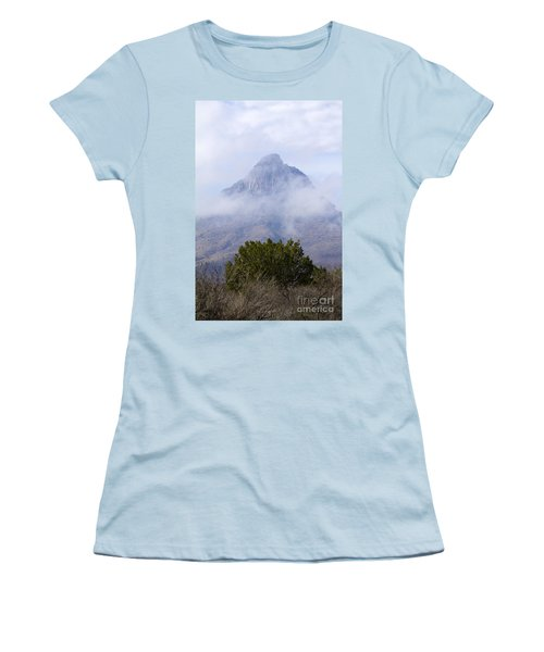 Mountain Cloaked Women's T-Shirt (Athletic Fit)