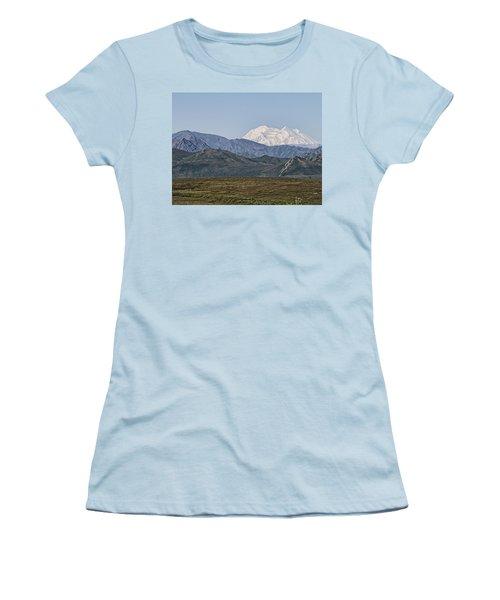 Mt. Mckinley Aka Denali Women's T-Shirt (Athletic Fit)