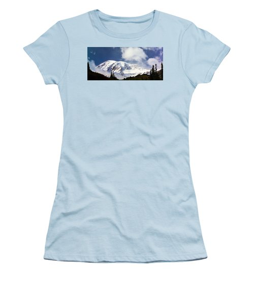 Mt Rainier II Women's T-Shirt (Athletic Fit)