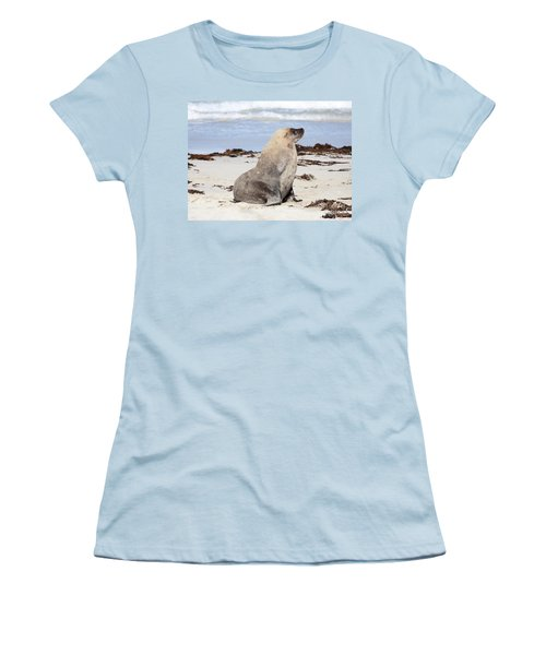 My Good Side Women's T-Shirt (Athletic Fit)