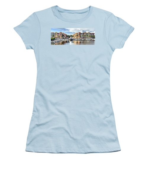 Naples Bayfront Women's T-Shirt (Athletic Fit)