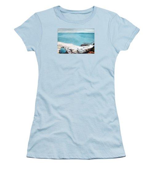 Natural Bridge Bermuda Women's T-Shirt (Junior Cut) by Celestial Images