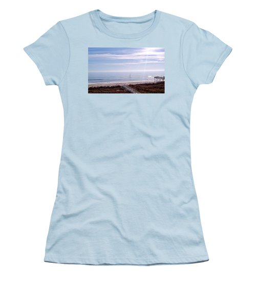 New Year Carolina Beach Women's T-Shirt (Athletic Fit)