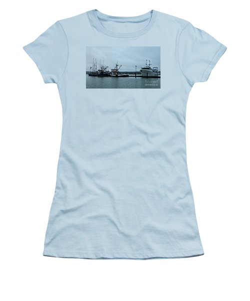 Newport Fishing Boats Women's T-Shirt (Athletic Fit)