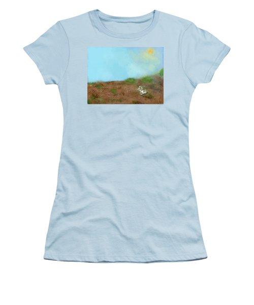 No Man's Land Women's T-Shirt (Athletic Fit)