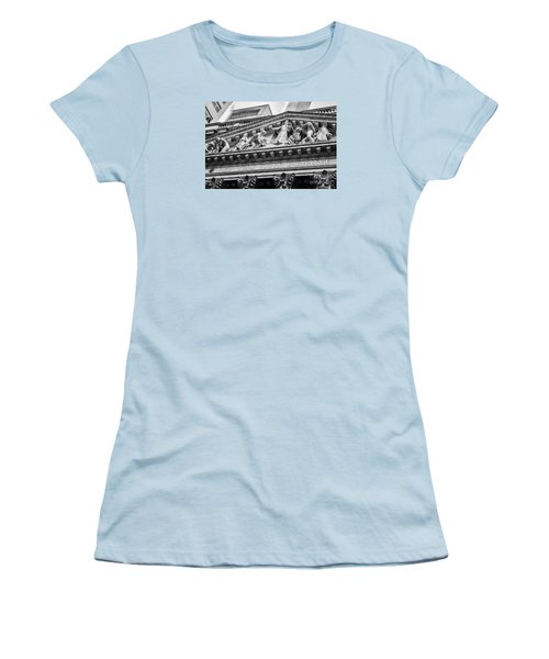 Nyse Women's T-Shirt (Junior Cut) by Jerry Fornarotto