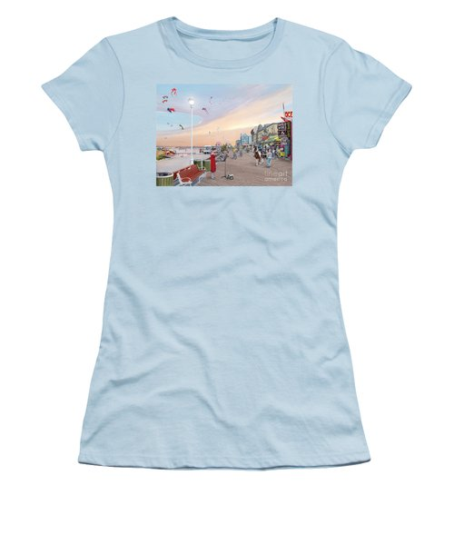 Ocean City Maryland Women's T-Shirt (Junior Cut) by Albert Puskaric