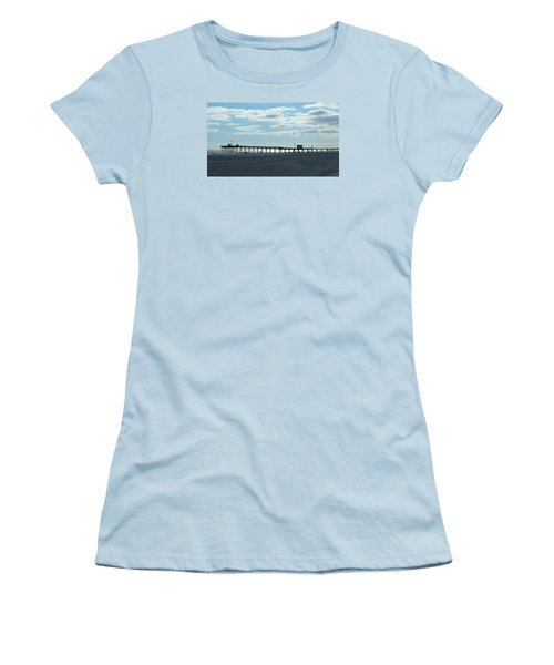 Ocean City New Jersey Pier Women's T-Shirt (Athletic Fit)