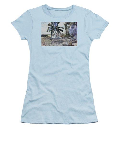 Ocean Kayacks Women's T-Shirt (Athletic Fit)