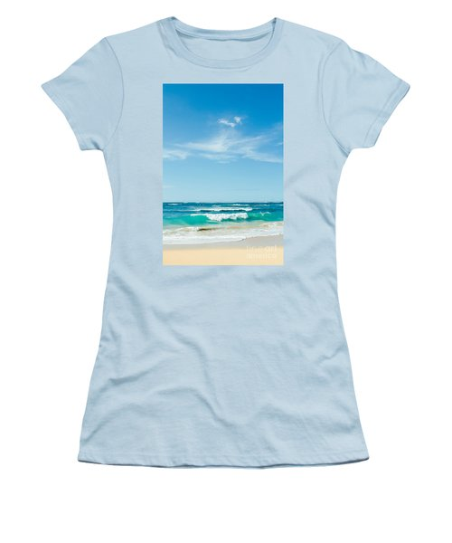 Women's T-Shirt (Athletic Fit) featuring the photograph Ocean Of Joy by Sharon Mau