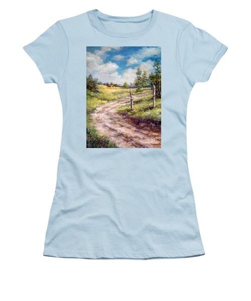 Old Home Place Women's T-Shirt (Athletic Fit)