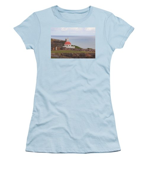 Old San Juan Women's T-Shirt (Athletic Fit)