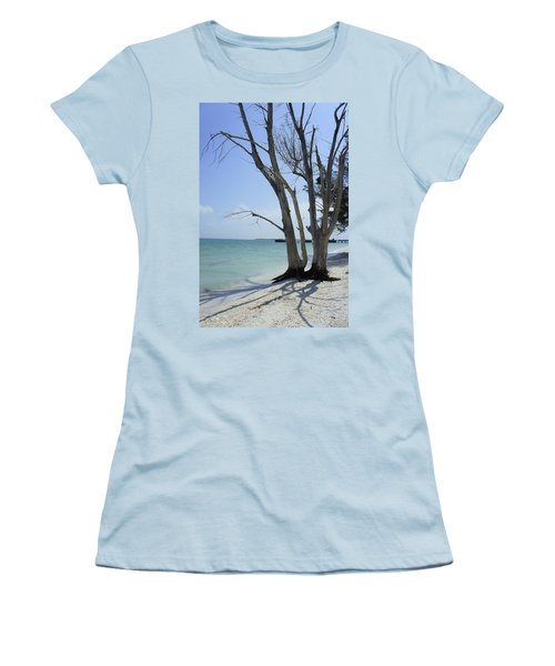 Women's T-Shirt (Junior Cut) featuring the photograph Old Tree by Laurie Perry