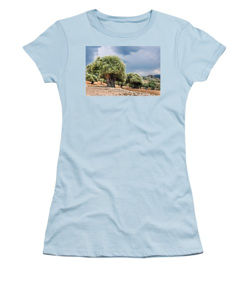Olive Grove Women's T-Shirt (Athletic Fit)