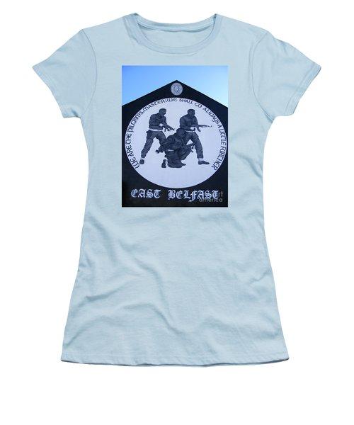 Ominous Women's T-Shirt (Junior Cut) by Nina Ficur Feenan