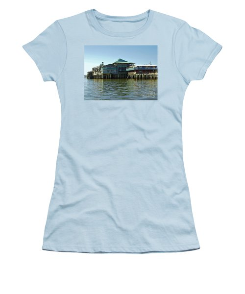 On The Gulf Women's T-Shirt (Junior Cut) by D Hackett