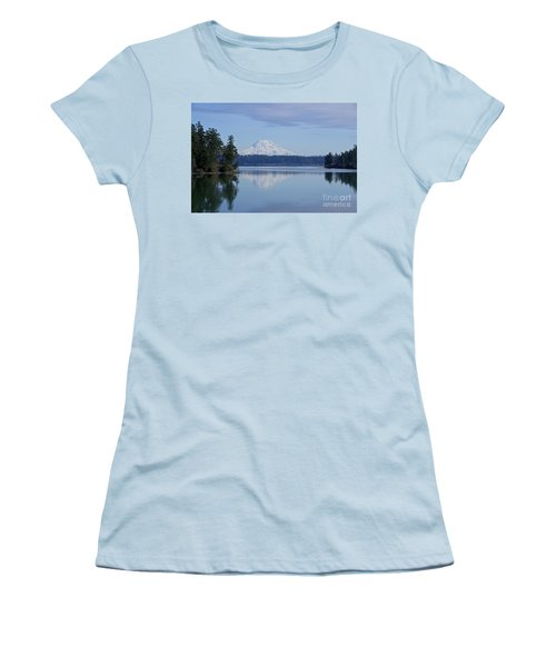 Oro Bay Reflection Women's T-Shirt (Junior Cut) by Sean Griffin