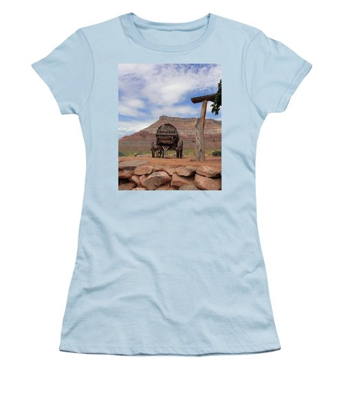 Out West Women's T-Shirt (Athletic Fit)