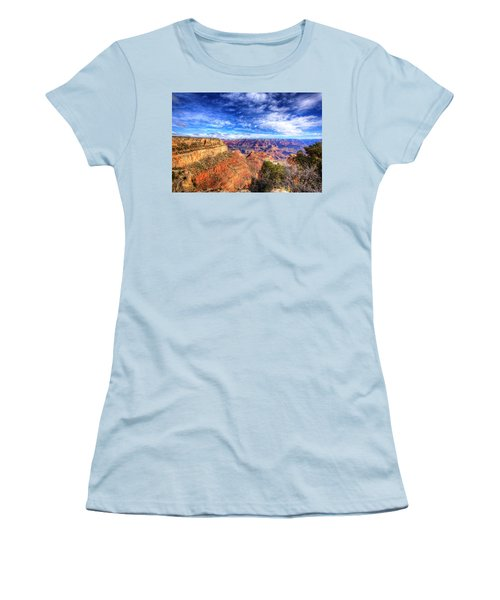 Over The Edge Women's T-Shirt (Athletic Fit)