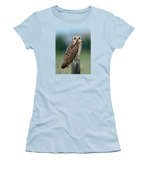 Owl See You Women's T-Shirt (Junior Cut) by Torbjorn Swenelius