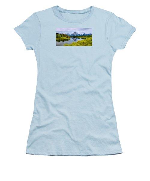 Oxbow Summer Women's T-Shirt (Junior Cut) by Chad Dutson