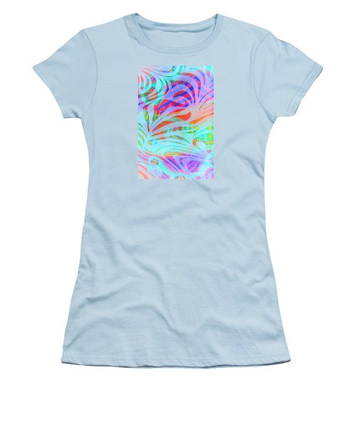 Women's T-Shirt (Junior Cut) featuring the photograph Pacific Daydream by Nareeta Martin