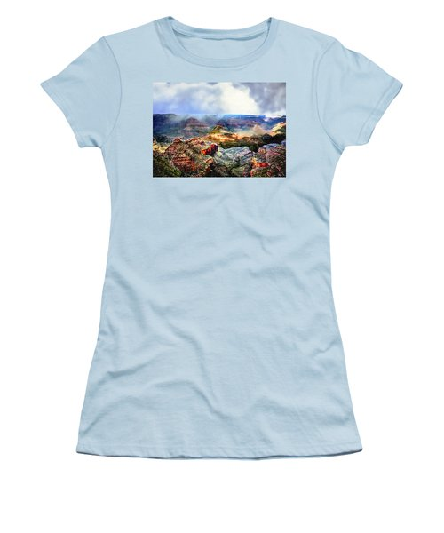 Painting The Grand Canyon Women's T-Shirt (Athletic Fit)