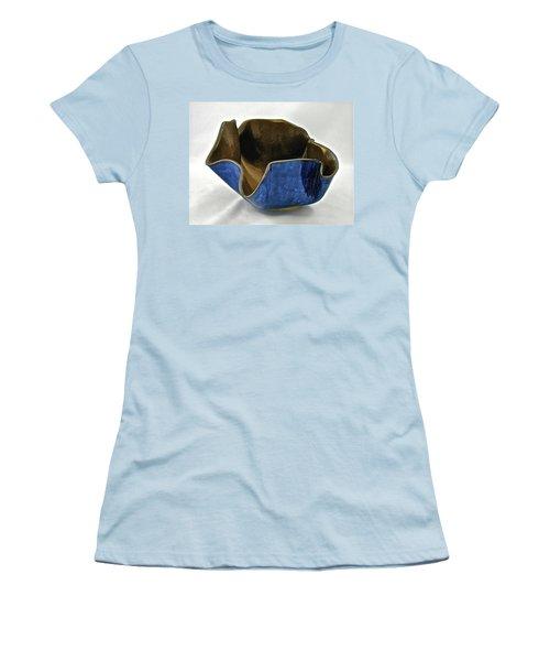 Paper-thin Bowl  09-005 Women's T-Shirt (Junior Cut) by Mario Perron