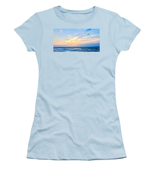Paraclete At Sunrise  Women's T-Shirt (Athletic Fit)
