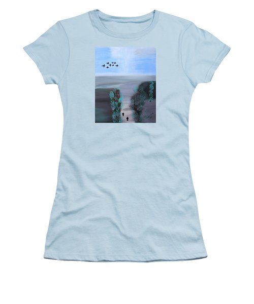 Paradise Women's T-Shirt (Junior Cut) by Lorna Maza