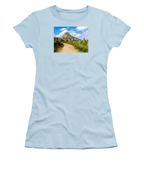 Path Into The Hills Women's T-Shirt (Athletic Fit)