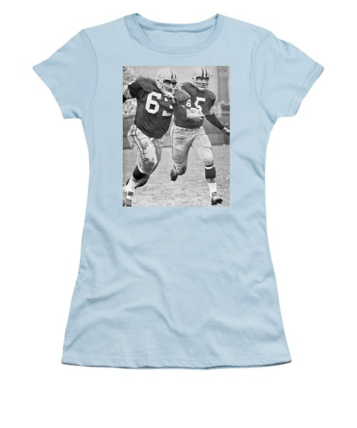 Paul Hornung Running Women's T-Shirt (Athletic Fit)