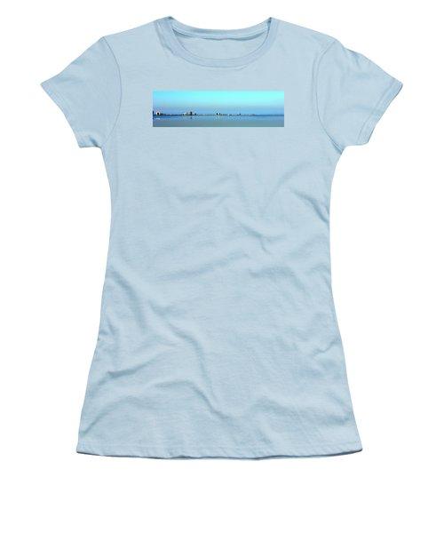 Peaceful Pensacola Beach Women's T-Shirt (Junior Cut) by Faith Williams