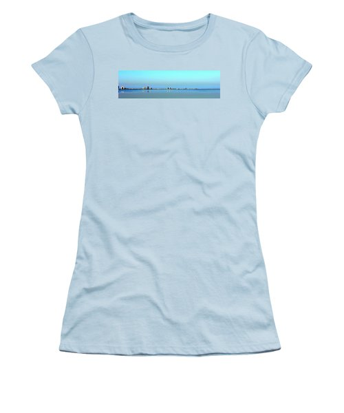 Peaceful Pensacola Beach Women's T-Shirt (Athletic Fit)