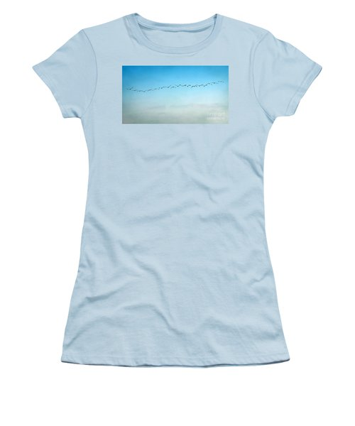 Pelican Flight Line Women's T-Shirt (Athletic Fit)
