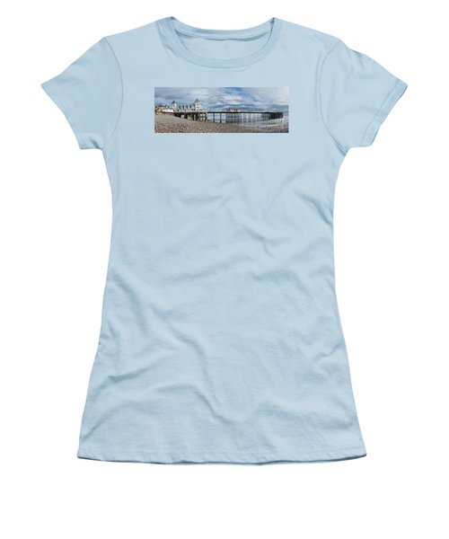 Penarth Pier Panorama 1 Women's T-Shirt (Athletic Fit)
