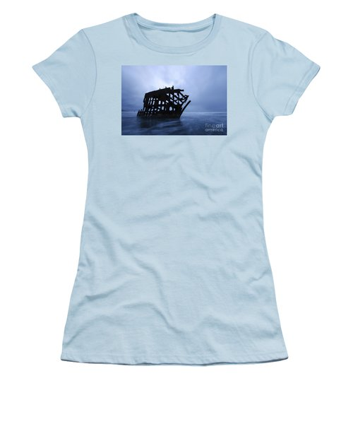 Peter Iredale Shipwreck Oregon 3 Women's T-Shirt (Athletic Fit)