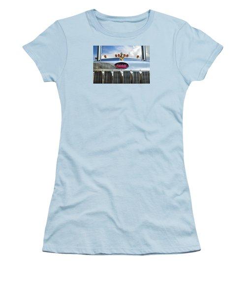 Peterbilt Women's T-Shirt (Junior Cut) by Theresa Tahara