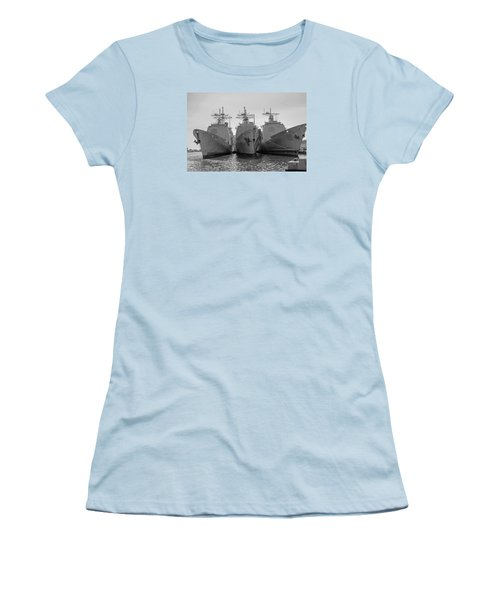 Philadelphia Navy Yard B - W  Women's T-Shirt (Athletic Fit)