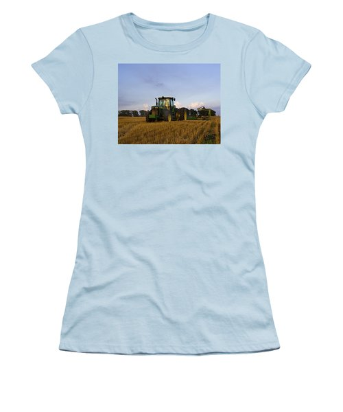 Planting Deere Women's T-Shirt (Athletic Fit)