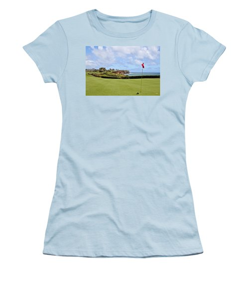 Poipu Bay #16 Women's T-Shirt (Athletic Fit)