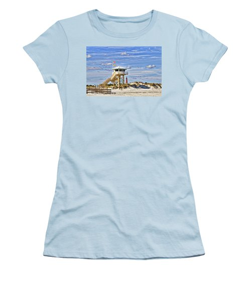 Ponce Inlet Scenic Women's T-Shirt (Athletic Fit)