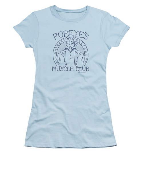 Popeye - Muscle Club Women's T-Shirt (Athletic Fit)
