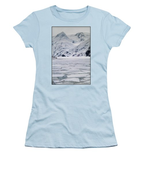 Portage Lake Women's T-Shirt (Athletic Fit)