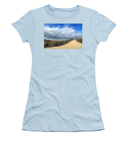 Race Point Women's T-Shirt (Athletic Fit)