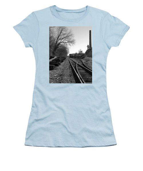 Railroad Siding Women's T-Shirt (Athletic Fit)