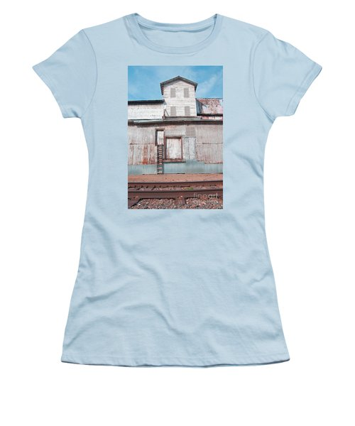 Railroad To The Past Women's T-Shirt (Athletic Fit)