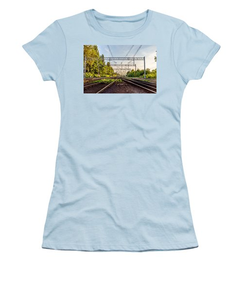 Railway To Nowhere Women's T-Shirt (Athletic Fit)