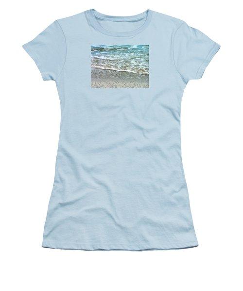 Rain Sea  Women's T-Shirt (Junior Cut) by Oleg Zavarzin